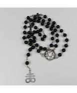 Luciferian Leviathan Cross Rosary - $26.00