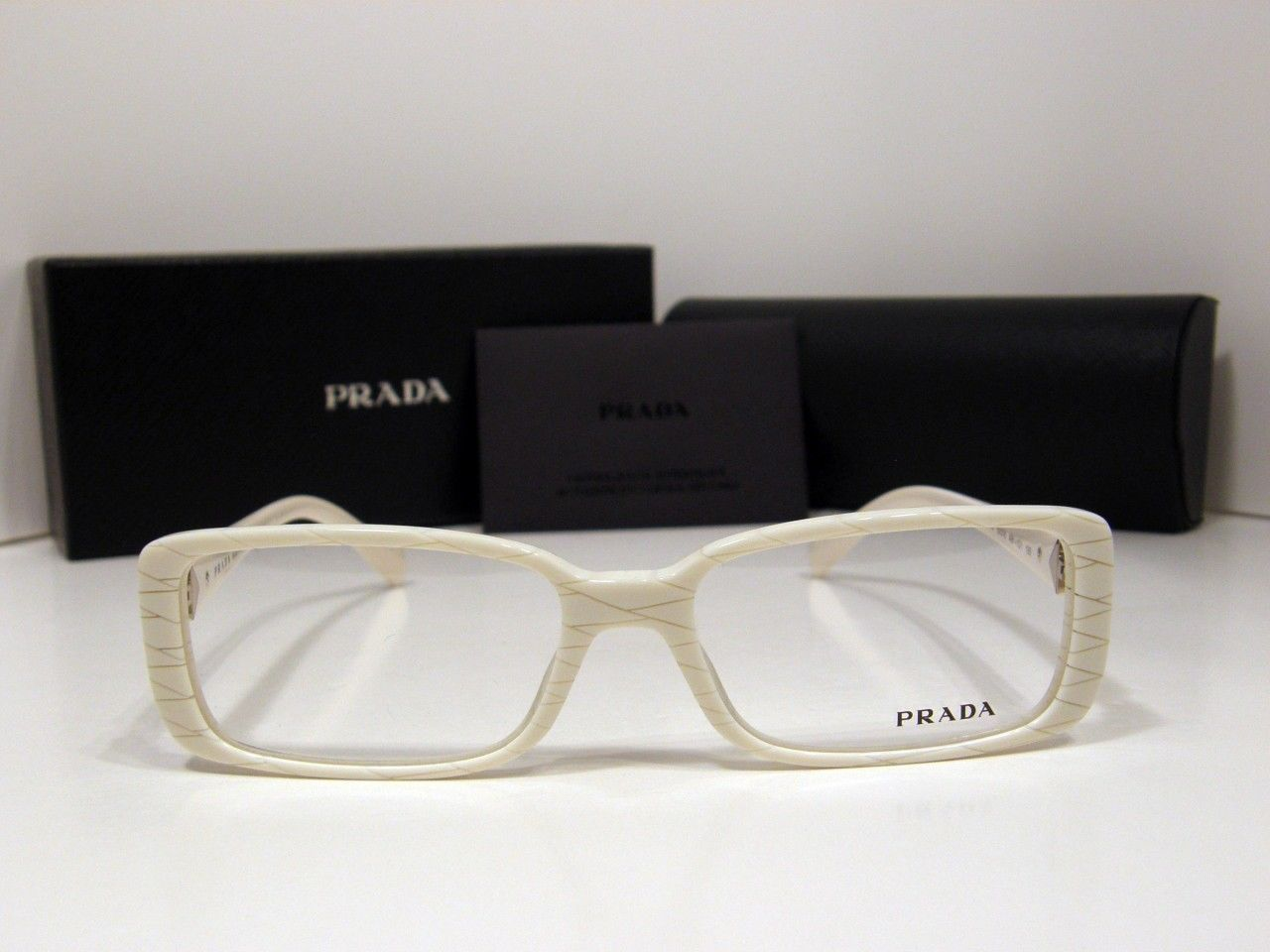 ab00bfc57d15 S l1600. S l1600. New Authentic Prada Eyeglasses VPR11NV AB1-1O1 54mm Made  in Italy VPR 11NV. Free Shipping