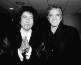 Bob Dylan Johnny Cash MM Vintage 18X24 BW Music Memorabilia Photo - $35.95