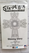 Shining Glory.  Cross. Stamplistic Layering Stamps. Stained Glass. CLEARANCE image 2