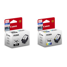 Canon PIXMA Ink Cartridges(for MG3077/MG3070/MX497) - PG-745 Black, CL-746 Color - $58.99