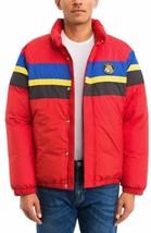 Polo Ralph Lauren Men's Red Striped Down Sport Jacket , Large - $197.01