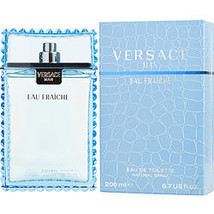 Versace Man Eau Fraiche By Gianni Versace Edt Spray 6.7 Oz - $145.00