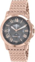 Fossil Men's FS5083 Rose Gold Stainless-Steel Quartz Watch - $125.00