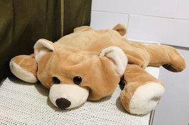 "Jay at Play 17"" Microbead Tan Brown Bear Pillow Plush HTF - $77.22"