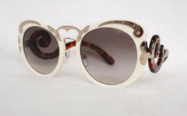 PRADA Women's Sunglasses PR07TS VAG 0A7 MINIMAL BAROQUE Ivory Acetate IT... - $199.95