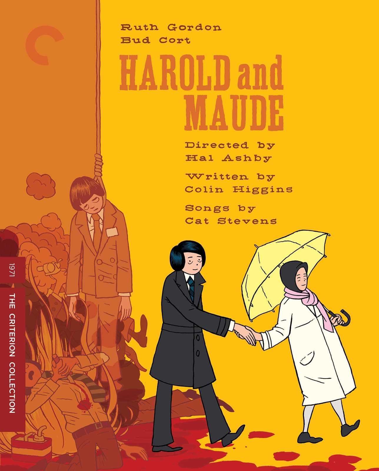 Harold and maude criterion dvd cover stock