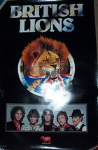 "BRITISH LIONS ""BRITISH LIONS"" LP 24"" X 36"" LP PROMO POSTER MOTT THE HOOPLE - $16.70"
