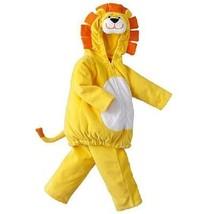 NWT Carters 2pc Fleece Lion Costume Dress up Carnival Halloween Padded 6... - $16.99
