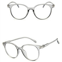 New Oval Fashion Classic Clear Lens Glasses Frame Retro Casual Daily Eyewear image 3