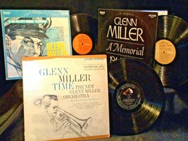 New Glenn Miller Orchestra - Miller Time AA-191755 Vintage Collectible 3 Albums