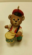 Hallmark Keepsake Fanfare Bear Ornament 1991 - $4.00