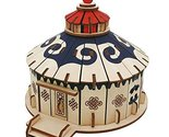 3D Wooden Puzzle Building Educational Toys 3D Puzzle - Mongolian Yurt