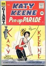 Katy Keene Pin-Up Parade #8 1959- Mad Comics Parody- Bill Woggon VG+ - $85.75