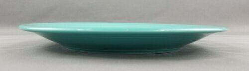 "Homer Laughlin Fiesta Fiestaware Turquoise Aqua 11 3/4"" Round Platter Chop Plate"