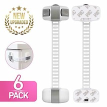 Child Safety Cabinet Locks [6 Pack] |Child Proof Safety Lock with Double... - $6.41