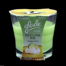 Glade Scented Candle Key Lime Pie NEW Glass Votive lot of 2 - $12.99