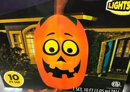 Airblown Inflatable Giant Pumpkin Jack O Lantern Halloween Yard Decor Ge... - $99.98