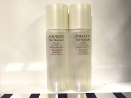 SHISEIDO The SkinCare Instant Eye And Lip Makeup Remover 2x 1 Oz- Travel Size - $12.16