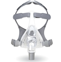 Small Fisher Paykel Simplus Full Face CPAP Mask With Headgear 400475 Complete - $85.00