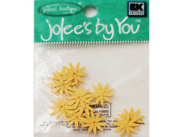 Jolee's by You Yellow Echinacea Flower Embellishments #JJAAO062A