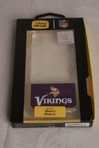 **New** Otterbox Apple I Phone X Xs ~ Minnesota Vikings Nfl ~ Clear Case - $7.90