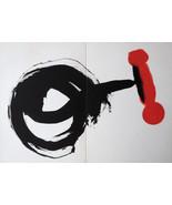 MIRO LITHOGRAPH +COA gift unique Joan Miró vintage print 1962 litógrafo ... - $177.36