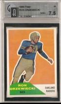 1960 Fleer #34 Ron Drzewiecki Compare to PSA / GAI 7.5 - $38.75