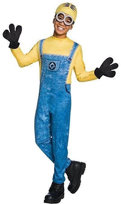Rubies Dave Minion Despicable Me 3 Movie Childs Boys Halloween Costume 630724