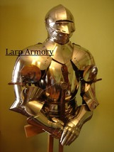 Medieval renaissance larp half suit of armour by Nauticalmart - $498.00