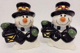 Free ship–NEW–Salt & Pepper–Snowmen with Lanterns–Young's - $7.29