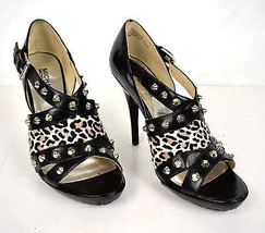 Michael Kors Shoes Stiletto High Heels Black Le... - $49.48