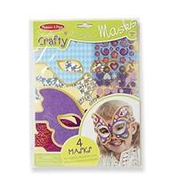 Melissa & Doug Simply Crafty Marvelous Masks Activity Kit (Makes 4 Masks) - $2.96
