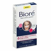 Biore Ultra Deep Cleansing Pore Strip 6ct - $8.90