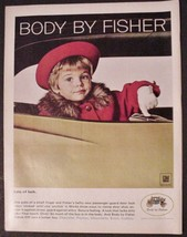 Body by Fisher General Motors Vintage 1967 GM Print Ad Beautiful little ... - $7.99