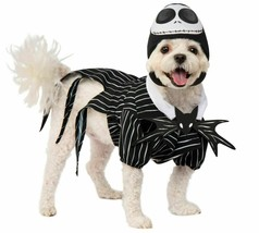 Rubies Nightmare Before Christmas Jack Skellington Pet Halloween Costume... - £15.44 GBP+