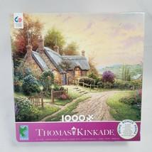 "Thomas Kinkade Ceaco Jigsaw puzzle ""A Peaceful Time"" 1000 PC Puzzle Seal... - $10.55"