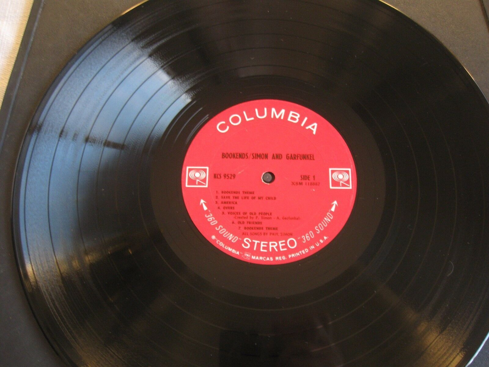 Simon & Garfunkel Bookends Columbia KCS 9529 Stereo 1A First Pressing image 3