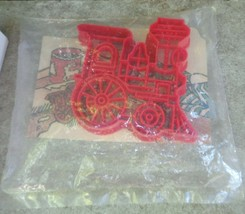 "1989 Hallmark ""Red Train"" Train Cookie Cutter and Recipe Keepsake Collec... - $12.99"