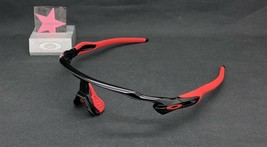 Oakley Radar EV Polished Black Red Earsocks Frame Only Authentic Asia Fit - $87.00