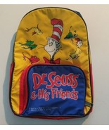 Dr. Seuss and His Friends Childs Kids Book Bag ToteTravel Backpack Camping - $11.67