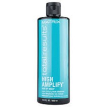 MATRIX TOTAL RESULTS HIGH AMPLIFY ROOT UP WASH CLEANSER 10.1 OZ - $13.56