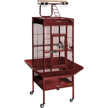 Prevue Hendryx Small Wrought Iron Select Bird Cage - Garnet Red 961-PP-3... - £208.26 GBP