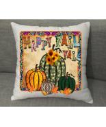 Throw Pillow Cover Sofa Decor Cushion Case Decorative Fall Throw Pillowc... - $12.87