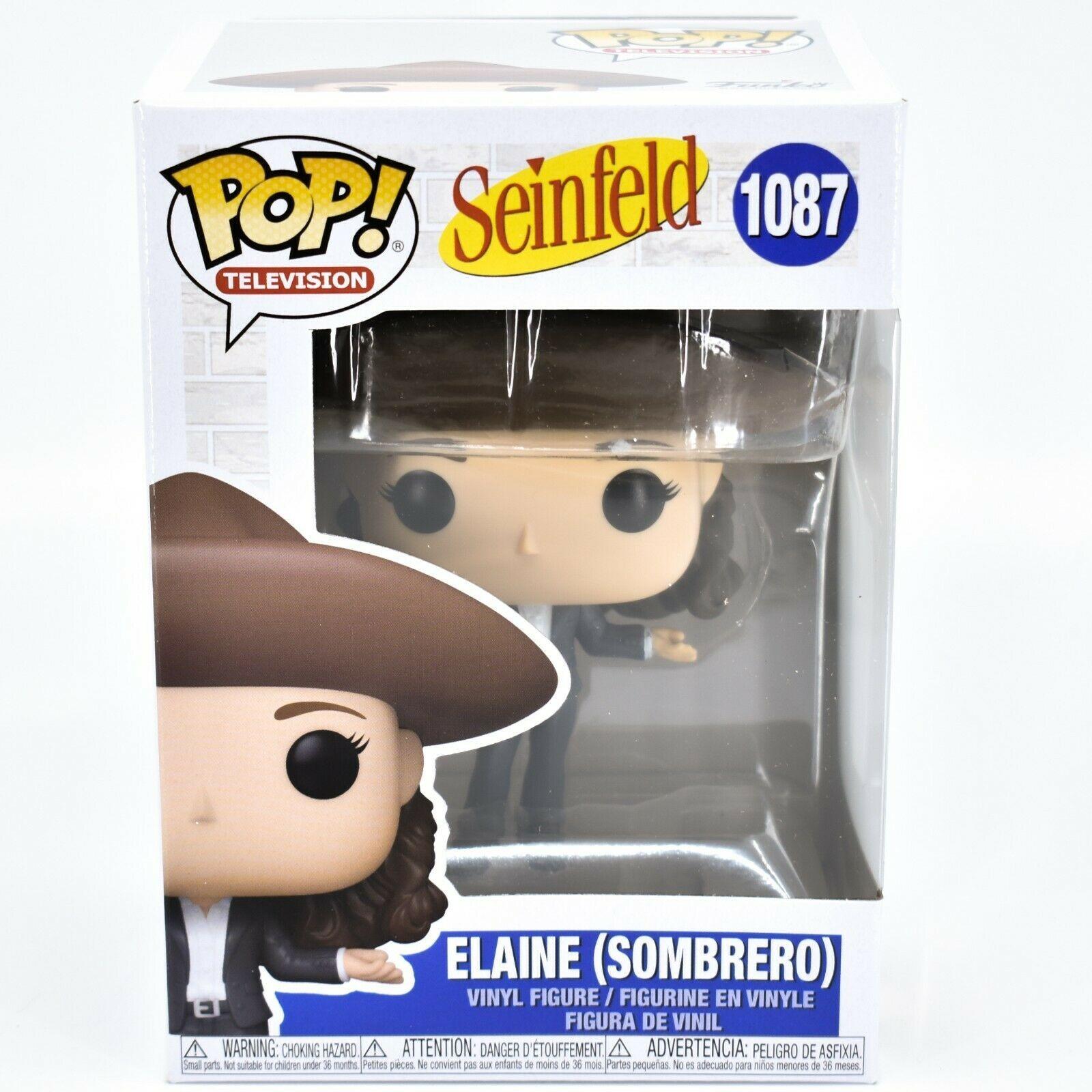 Funko Pop! Television Seinfeld Elaine Benes w Sombrero #1087 Vinyl Action Figure