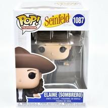 Funko Pop! Television Seinfeld Elaine Benes w Sombrero #1087 Vinyl Action Figure image 1