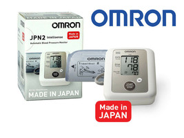 New Omron Fully Automatic Upper Arm Blood Pressure Monitor JPN2 FAST SHI... - $78.39