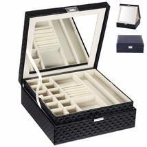 BEWISHOME Jewelry Box Organizer 28 Section Display Storage Box Case - Mo... - €30,14 EUR
