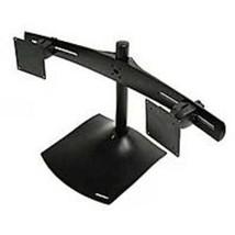Ergotron DS100 Dual-Monitor Desk Stand, Horizontal (Black) - $287.97