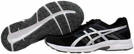 [T716N 9093] Men's  Gel Contend 4 Black/Silver-Carbon Size 10 - $64.14